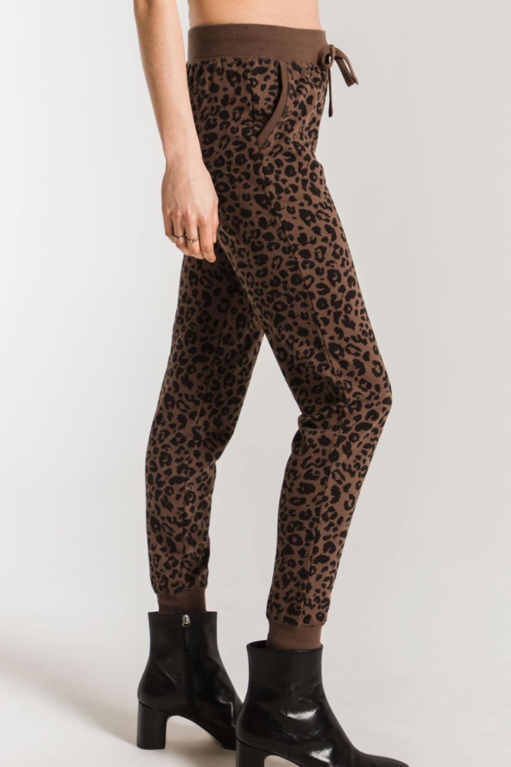 Z Supply  Leopard Jogger - Front Full Image