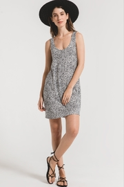 z supply Leopard Tank Dress - Front cropped