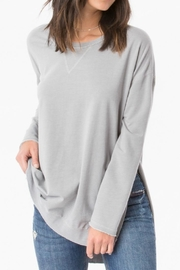 z supply Light Grey Weekender - Front cropped