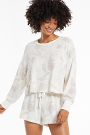 z supply Lina Floral Long Sleeve Top - Product Mini Image