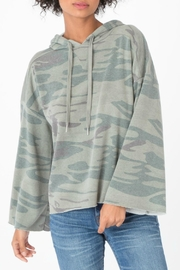 z supply Loft Camo Pullover Top - Front cropped