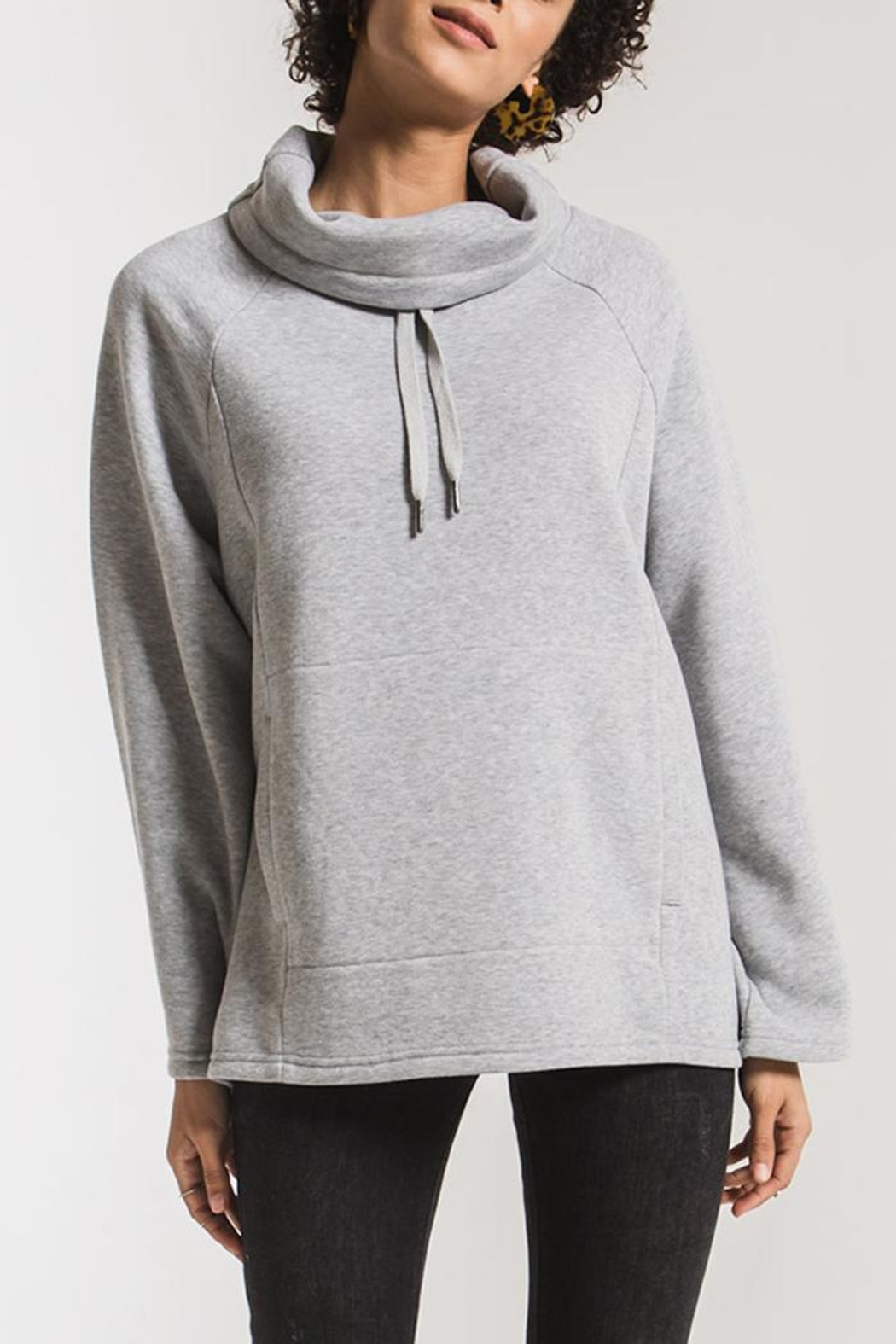 z supply Loft Fleece Pullover - Front Cropped Image