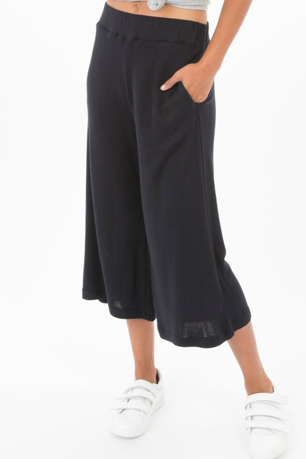 z supply Lush Modal Culottes - Front Full Image