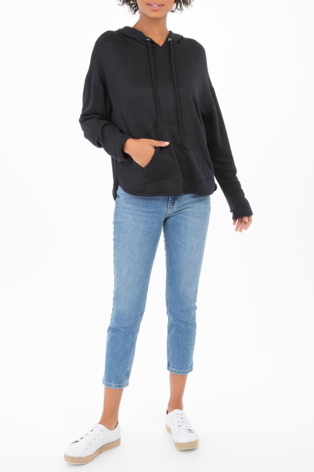 z supply Lush Modal Hoodie - Side Cropped Image