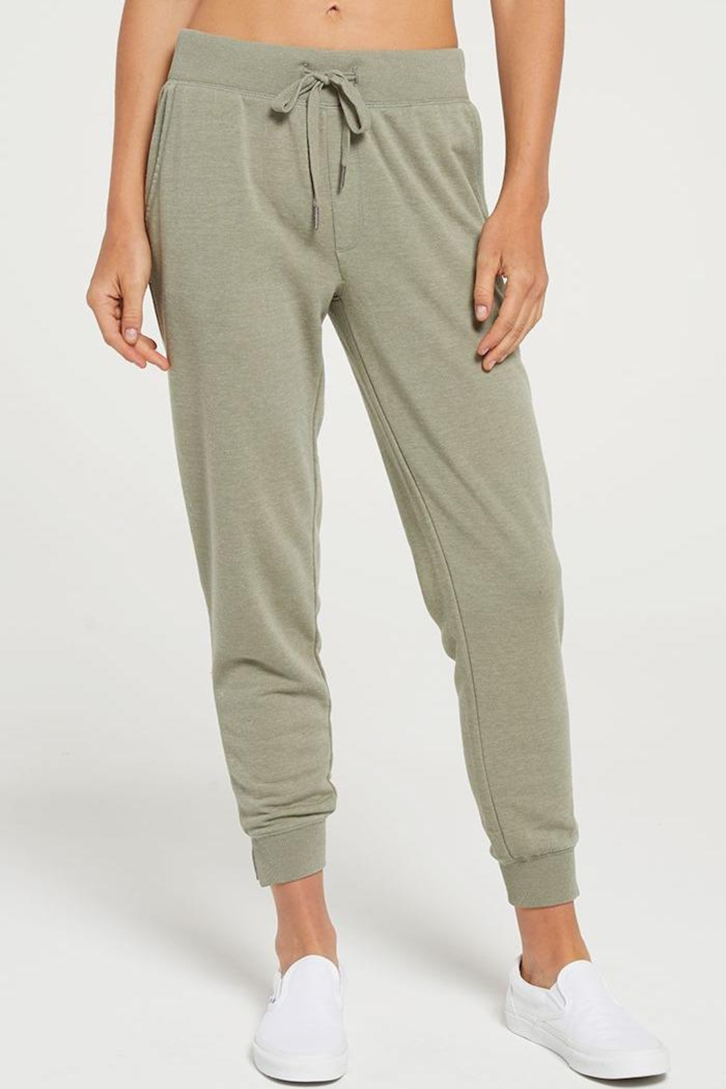 z supply Marled Jogger - Front Cropped Image