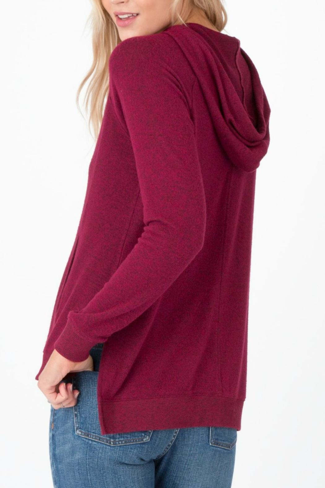 z supply Marled Pullover Cardigan - Front Full Image
