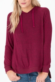 z supply Marled Pullover Cardigan - Front cropped