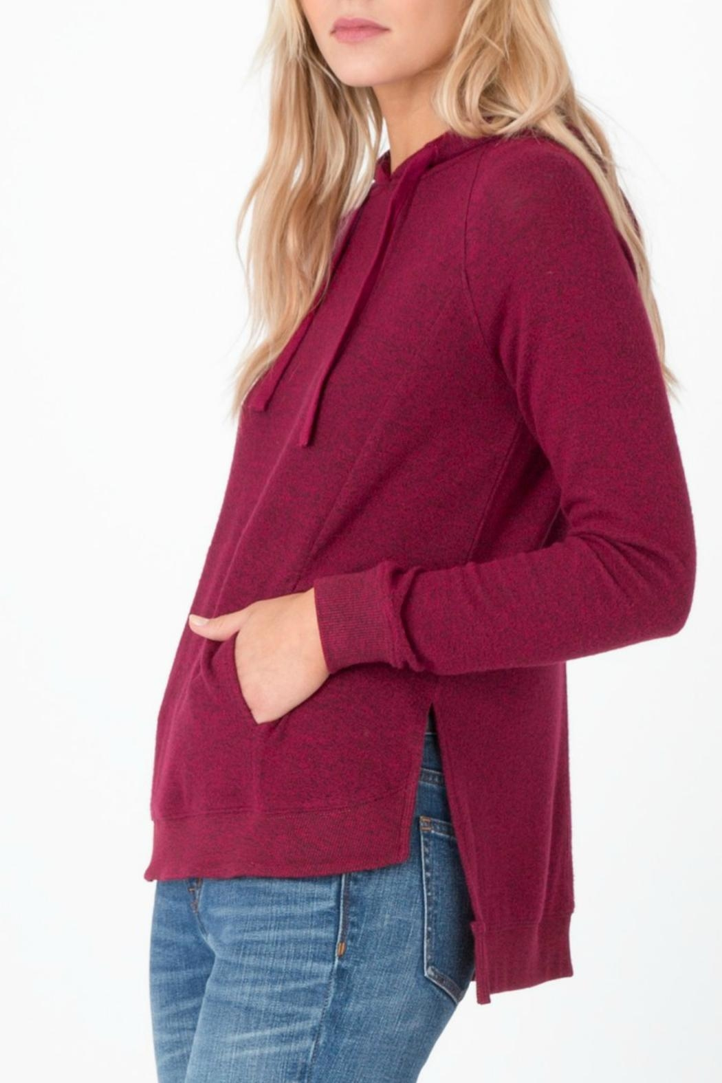 z supply Marled Pullover Cardigan - Side Cropped Image