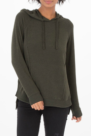 z supply Marled Pullover Hoody - Product Mini Image