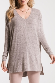 z supply Marled Sweater Tunic - Side cropped
