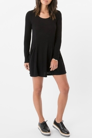 z supply Marled Swing Dress - Product Mini Image