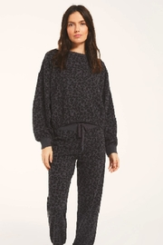 z supply Mason Leopard Pullover - Front cropped