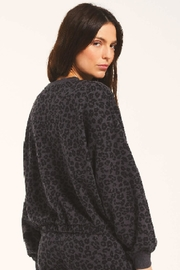 z supply Mason Leopard Pullover - Side cropped
