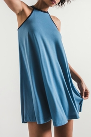z supply Mei Dress - Blue - Product Mini Image