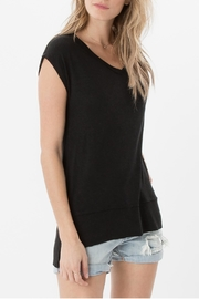 z supply Mia Linen Top - Side cropped