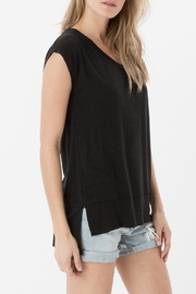 z supply Mia Linen Top - Front full body