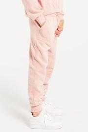 z supply Mix Fleece Jogger - Front cropped