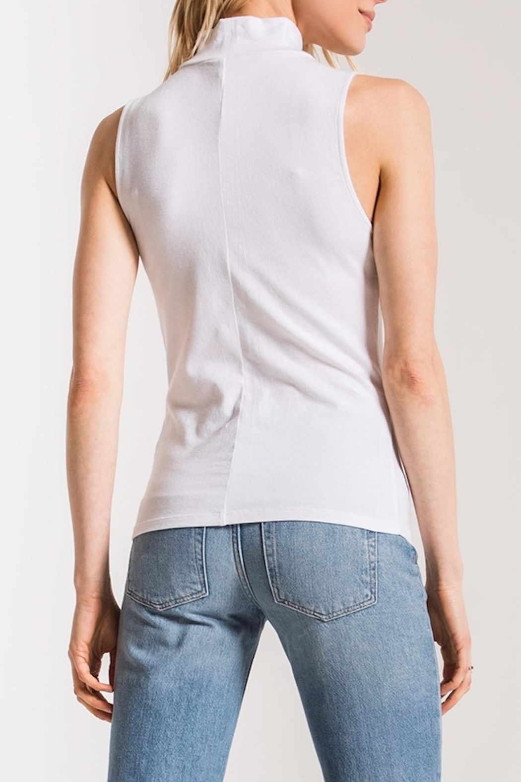 z supply Mock Neck Tank - Front Full Image