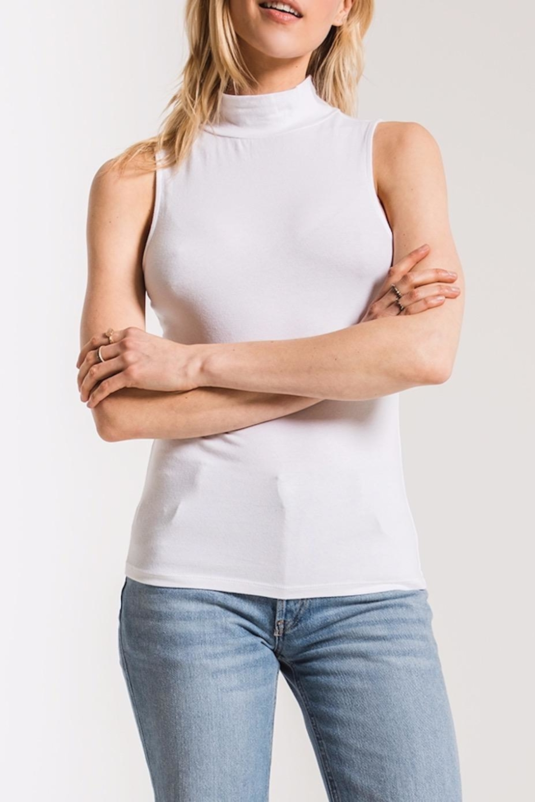 z supply Mock Neck Tank - Main Image