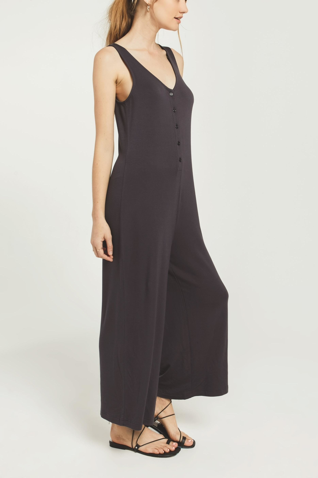 z supply Mojave Jumpsuit - Front Full Image
