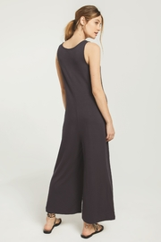 z supply Mojave Jumpsuit-Washed Black - Side cropped