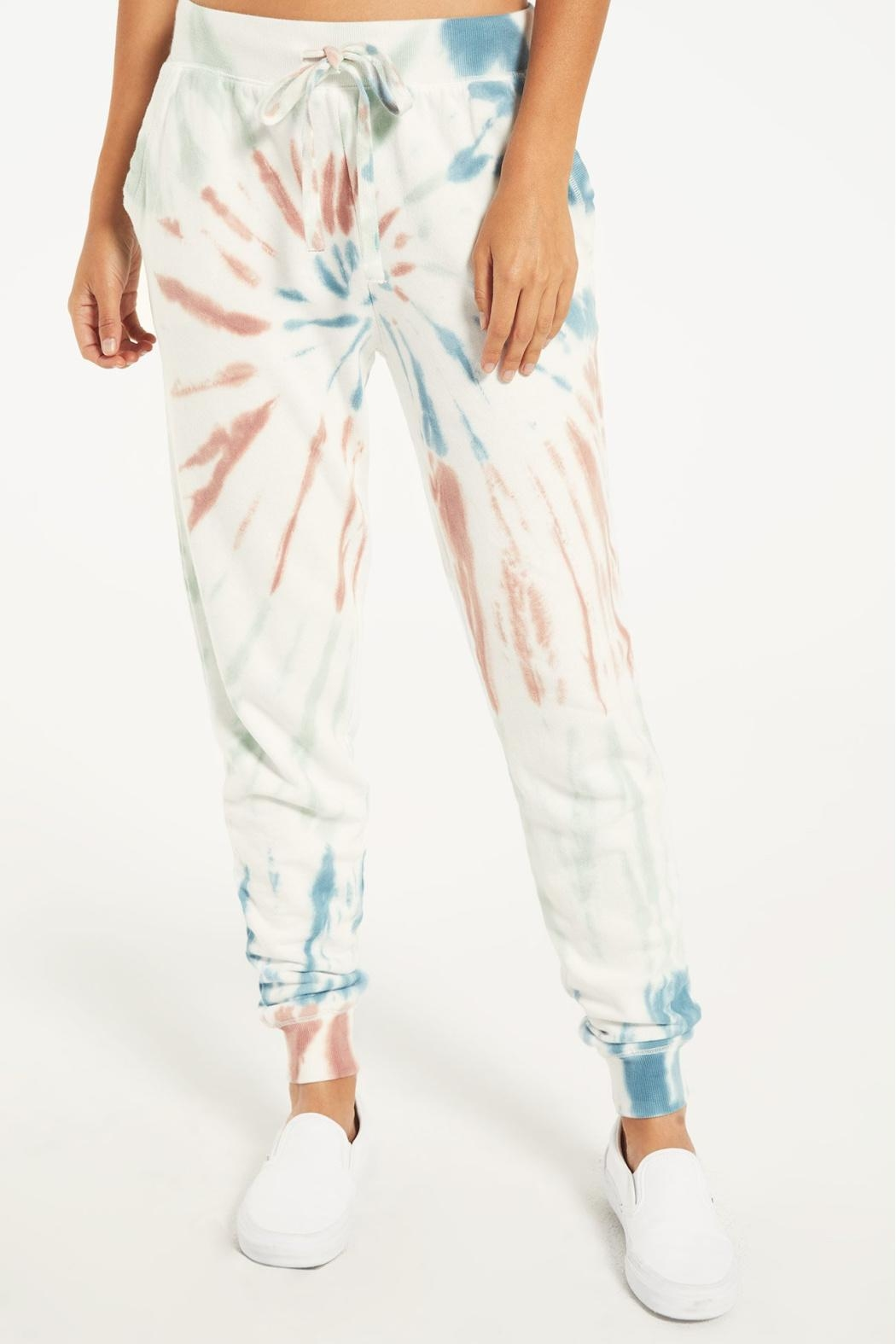 Z Supply  Multicolor Tie-Dye Jogger - Side Cropped Image
