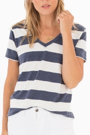 z supply Naples Striped Tee - Product Mini Image