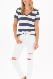 z supply Naples Striped Tee - Back cropped