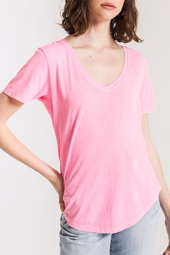 z supply Neon V-Neck Tee - Product List Image