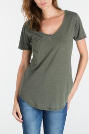 z supply Olive Pocket Tee - Product Mini Image