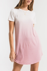 z supply Ombre Dip Dye Dress - Front cropped