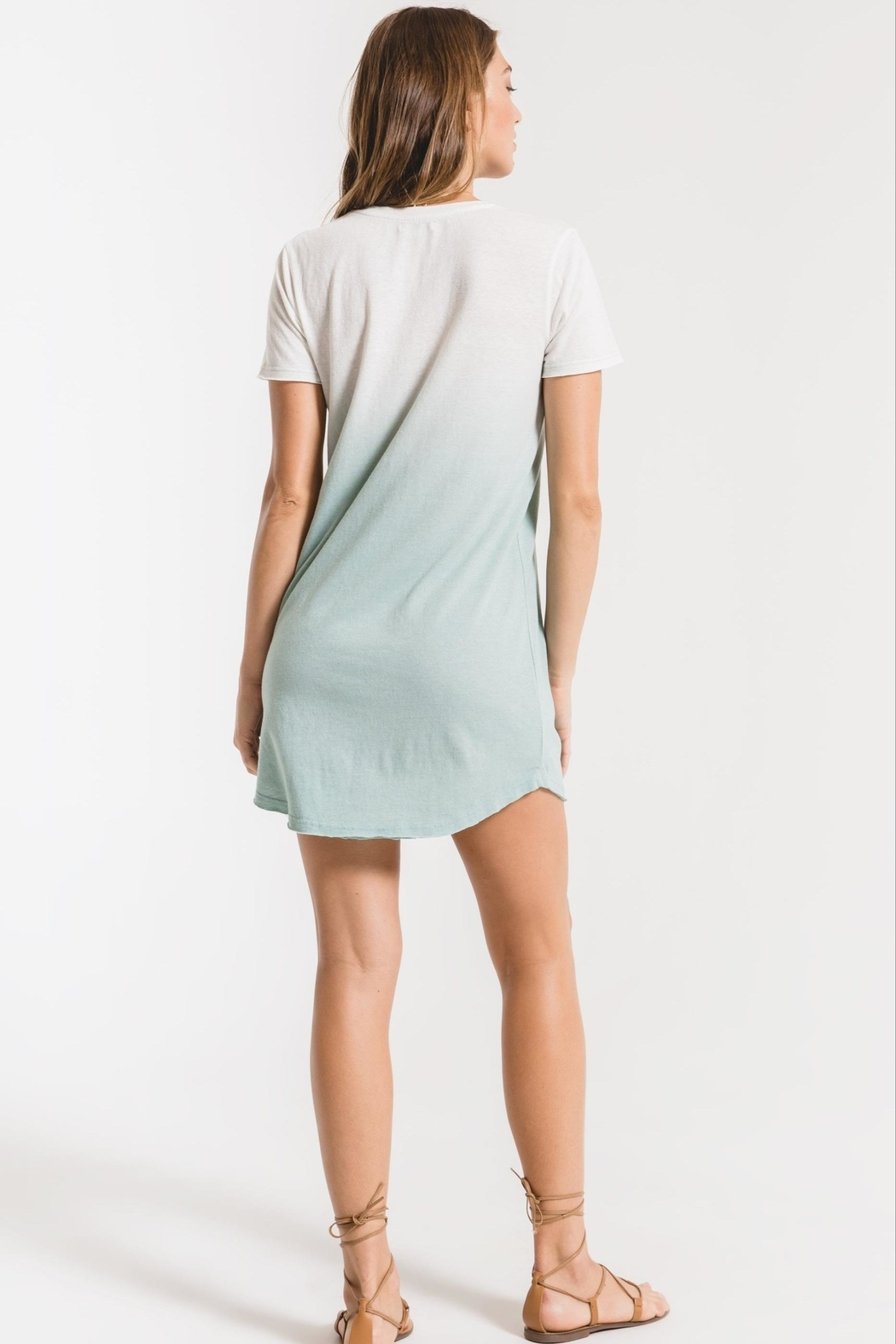 z supply Ombre Dip-Dye Dress - Side Cropped Image