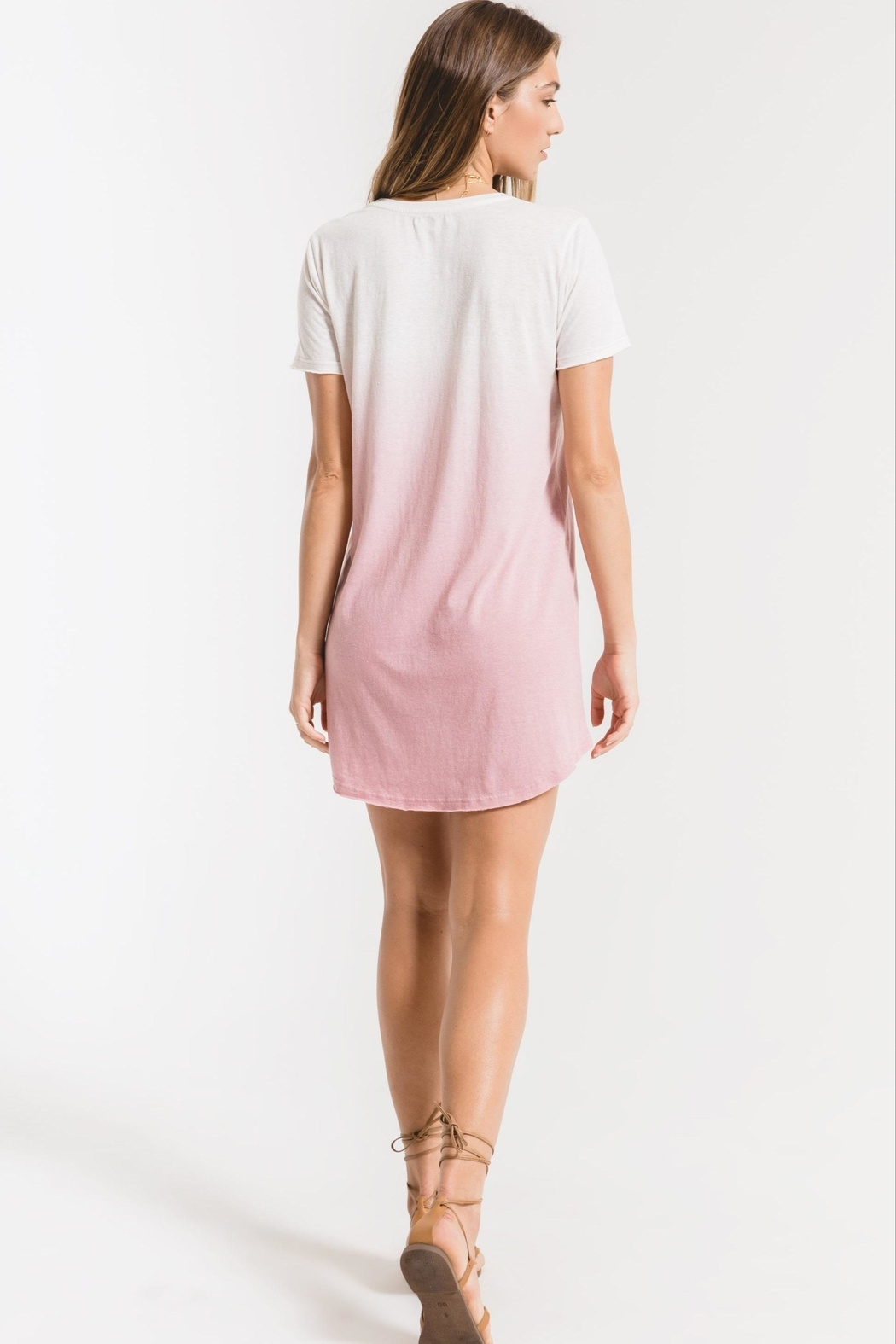 z supply Ombre Dip-Dye Dress - Front Full Image