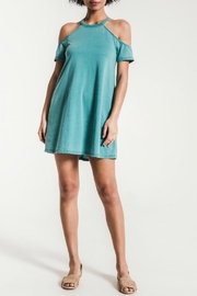 z supply Open Shoulder Dress - Product Mini Image