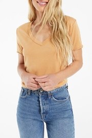 z supply Organic Cotton V-Neck - Front cropped