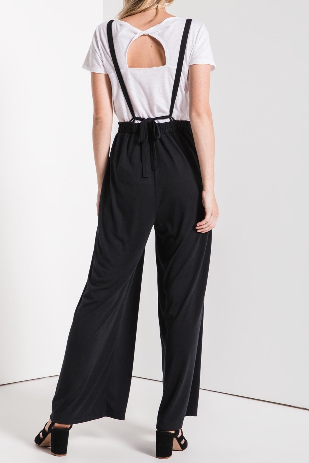 z supply Overall Styled Jumpsuit - Front Full Image