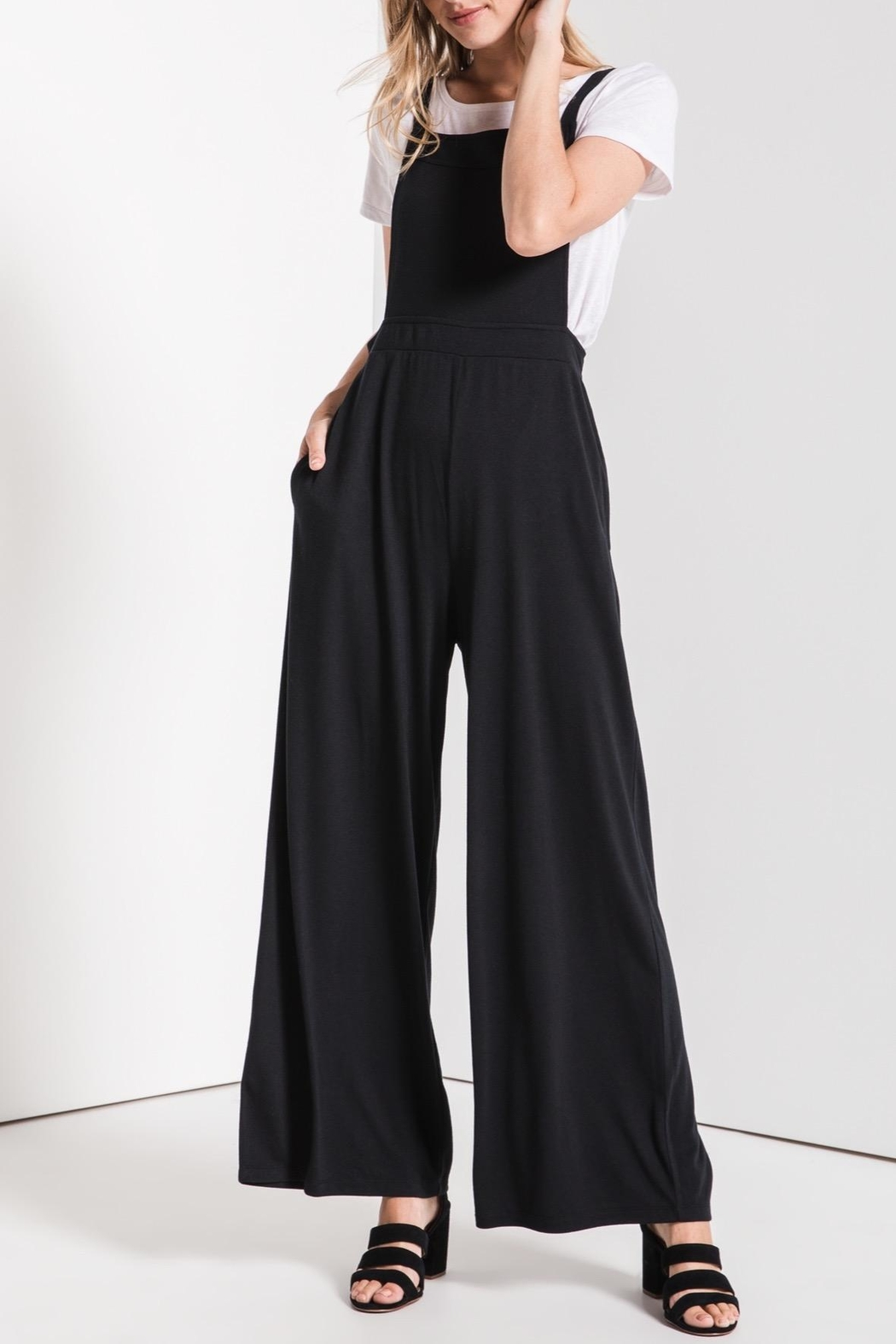 z supply Overall Styled Jumpsuit - Main Image