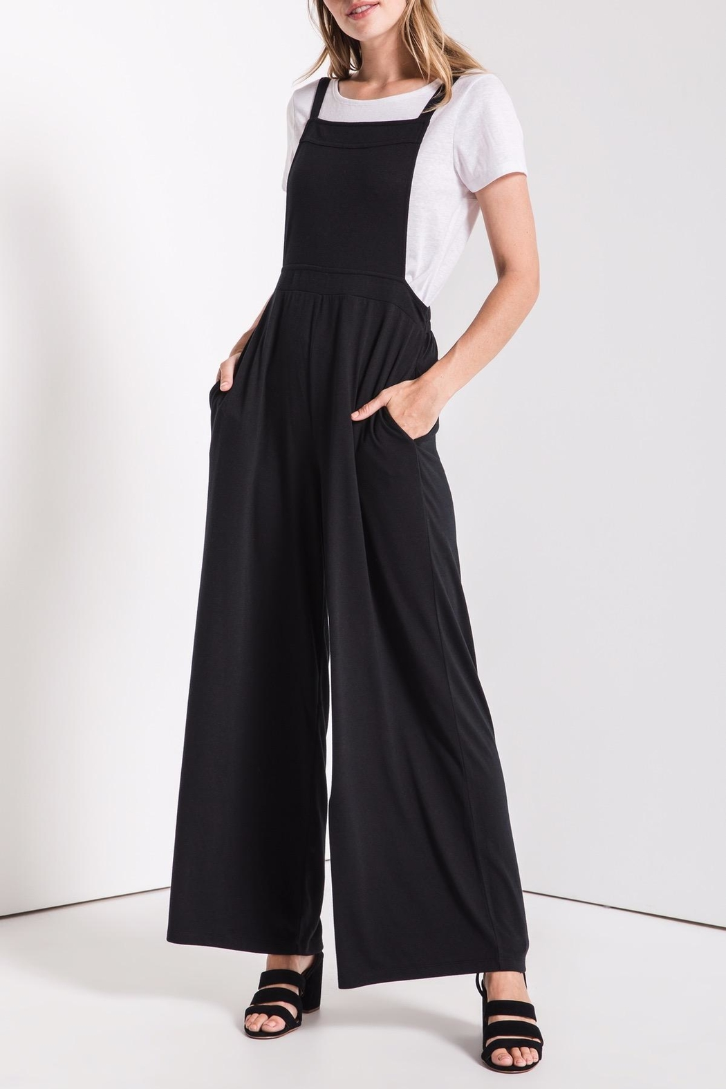 z supply Overall Styled Jumpsuit - Side Cropped Image