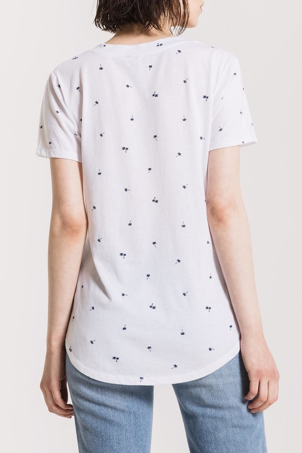 z supply Palm Pocket Tee - Front Full Image