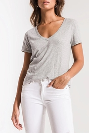 z supply Perfect V-Neck Tee - Product Mini Image