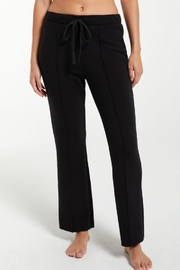 z supply Peyton Cropped Sweatpant - Front cropped