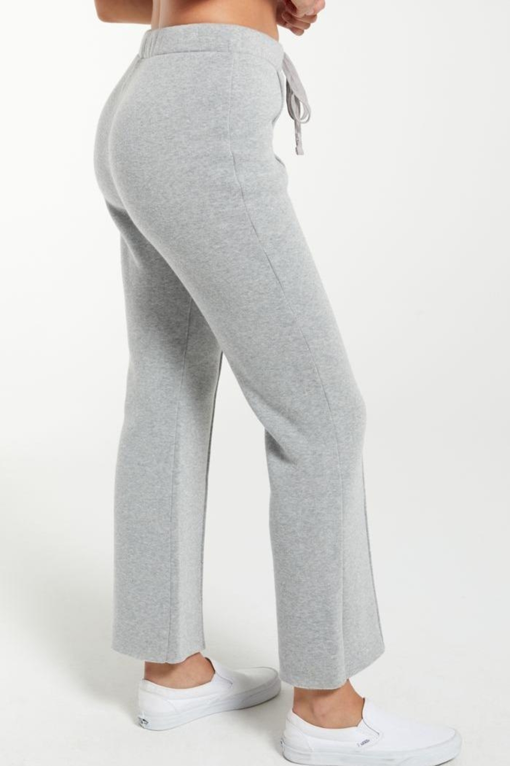 z supply Peyton Cropped Sweatpant - Side Cropped Image