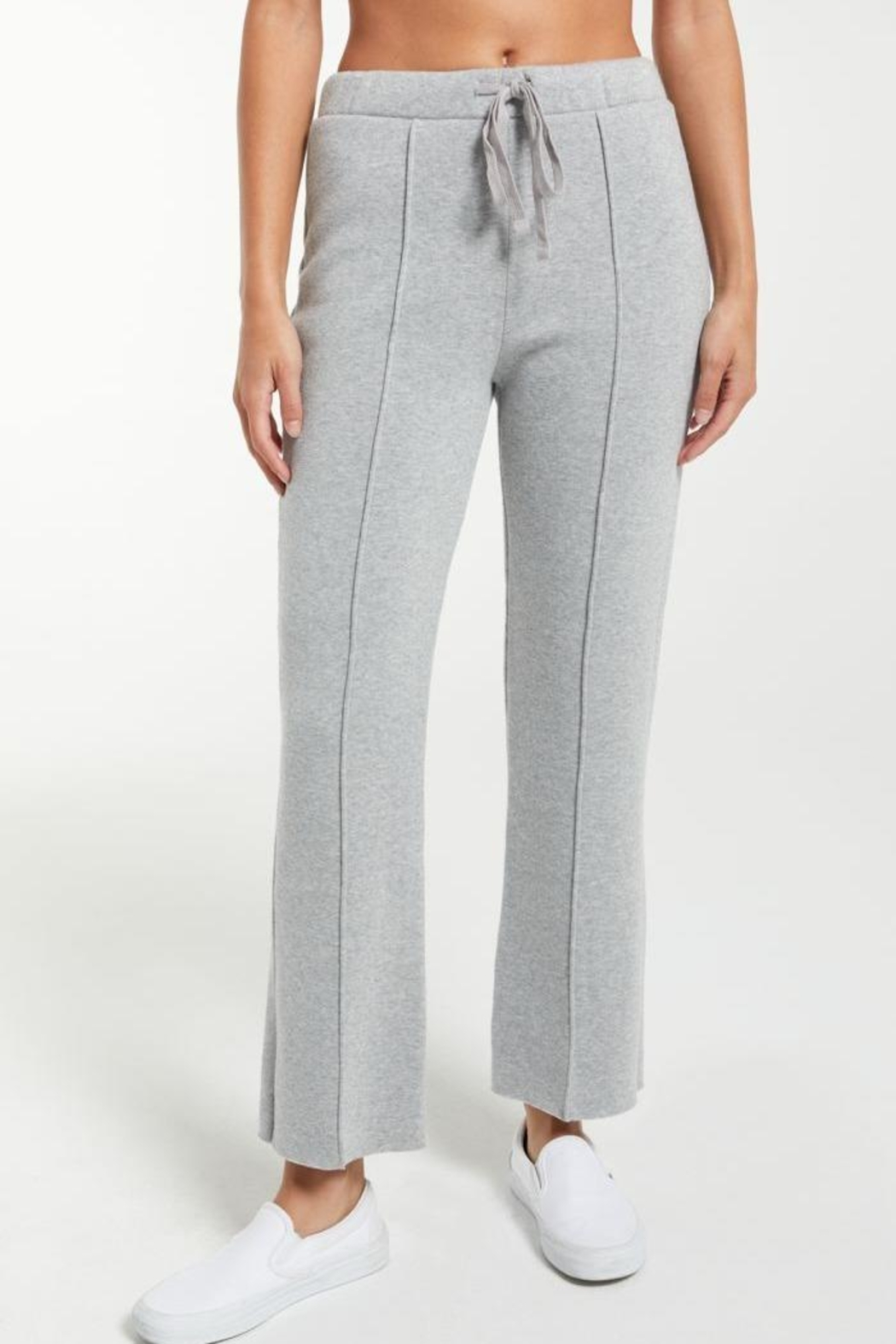 z supply Peyton Cropped Sweatpant - Front Cropped Image