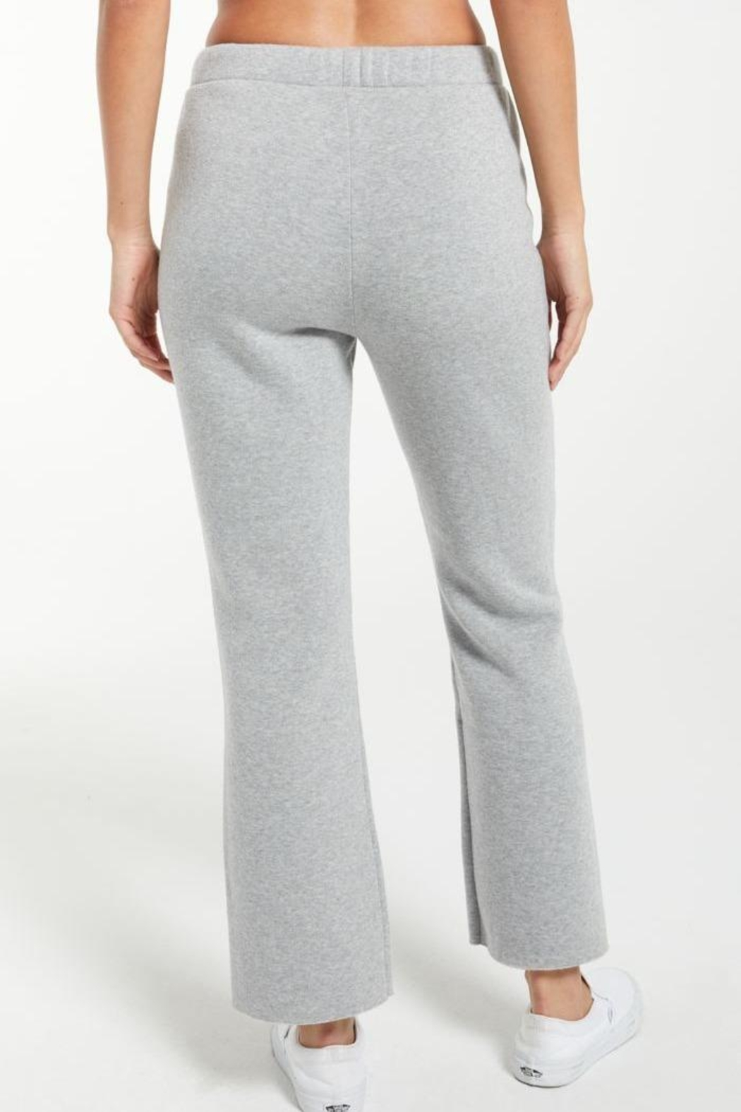 z supply Peyton Cropped Sweatpant - Back Cropped Image