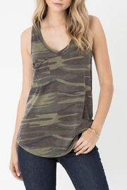 z supply Pocket Racer Tank - Product Mini Image