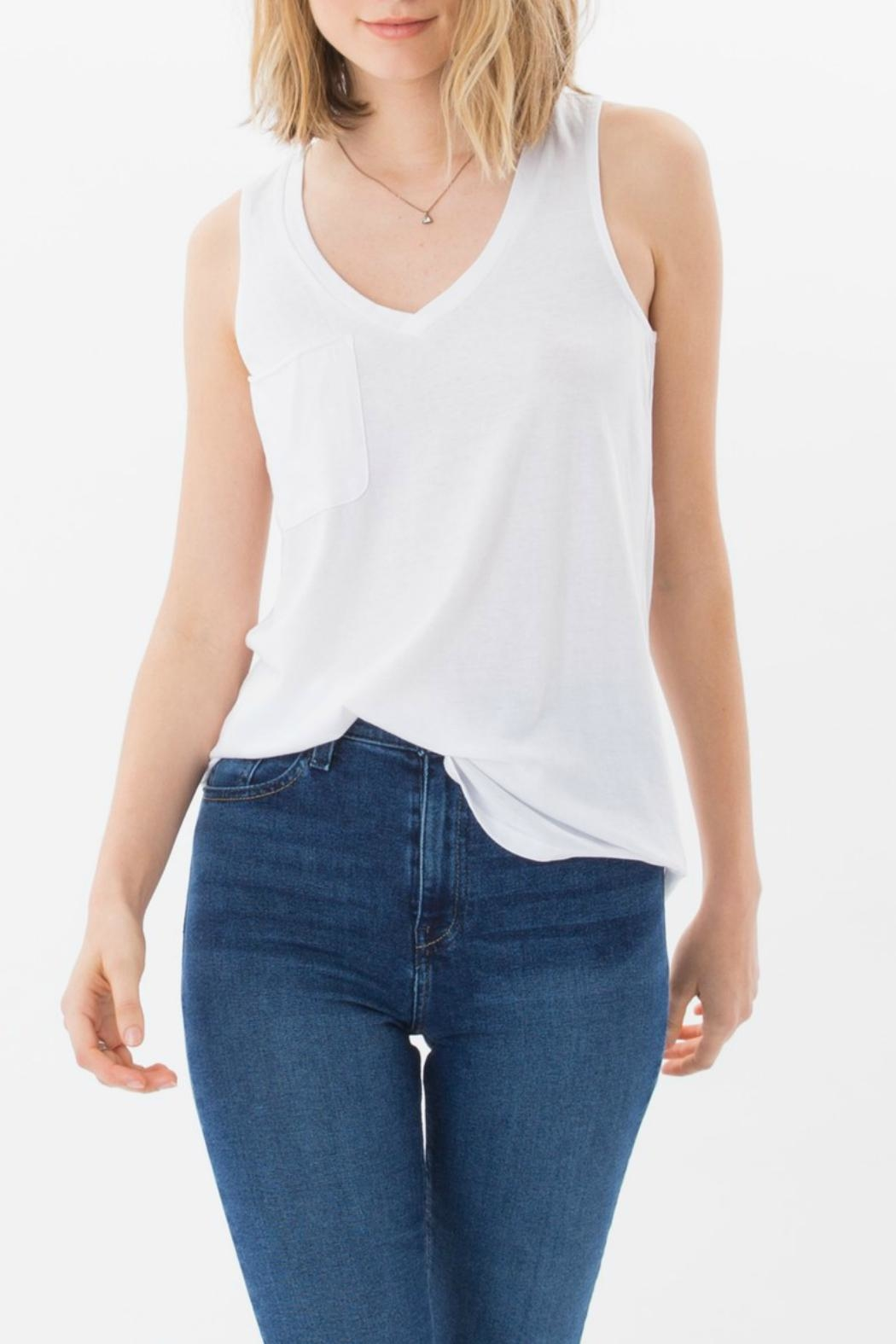 Z Supply Pocket Racerback Tank Top From New Jersey By