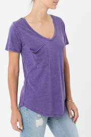 z supply Violet Pocket Tee - Front cropped