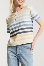 Z Supply  Rainbow Crew Tee - Front cropped