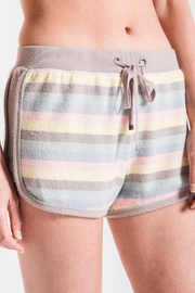 z supply Rainbow Stripe Short - Product Mini Image