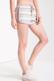 z supply Rainbow Stripe Shorts - Front cropped